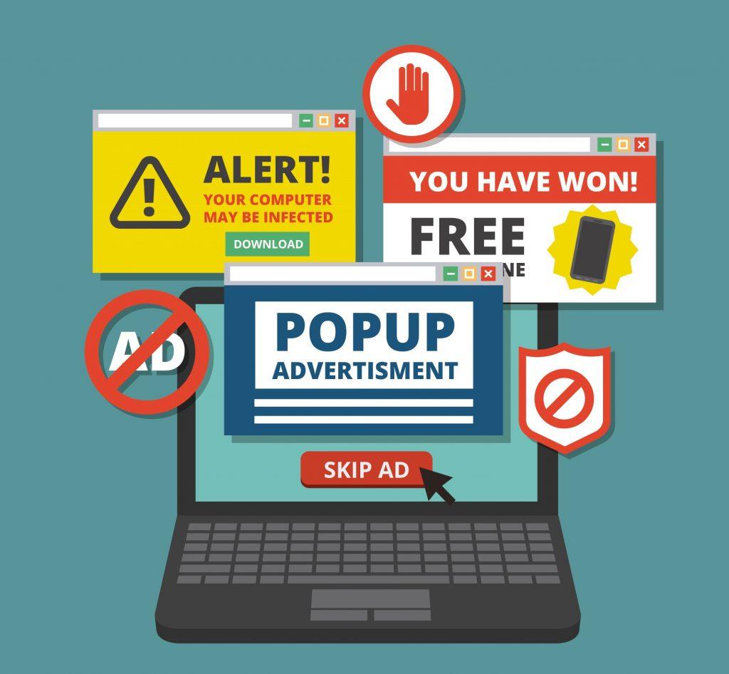 nội dung kém chất lượng, quảng cáo dày đặc gây nhiều rắc rối cho người dùng