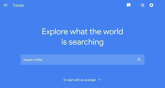 Sử dụng Google Trends tìm long tail keywords