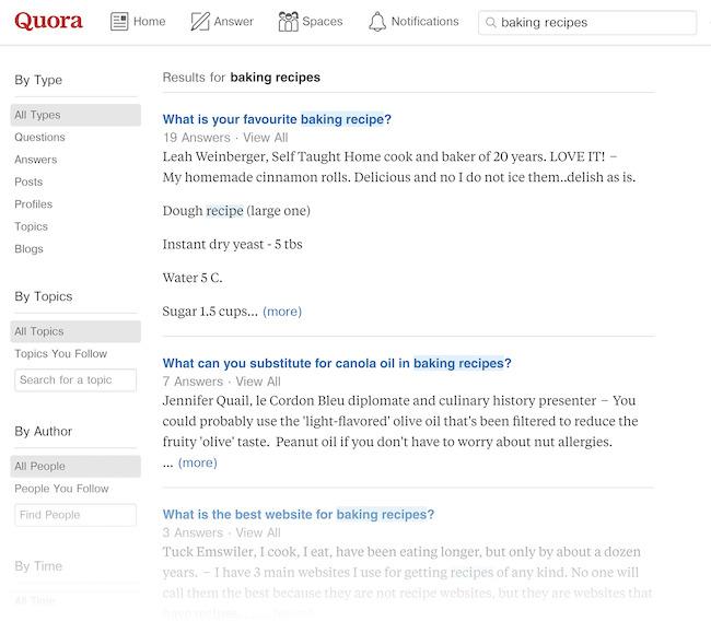 Quora sẽ hiện lên các câu hỏi mà mọi người thường hỏi
