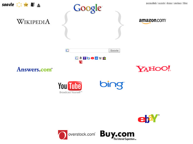 Công cụ tìm kiếm long tail keywords Soovle.