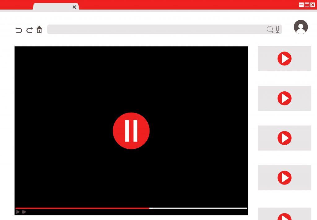 thuật toán Youtube về video được đề xuất