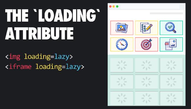 Core Web Vitals thêm thuộc tính lazy loading hình ảnh và iframe