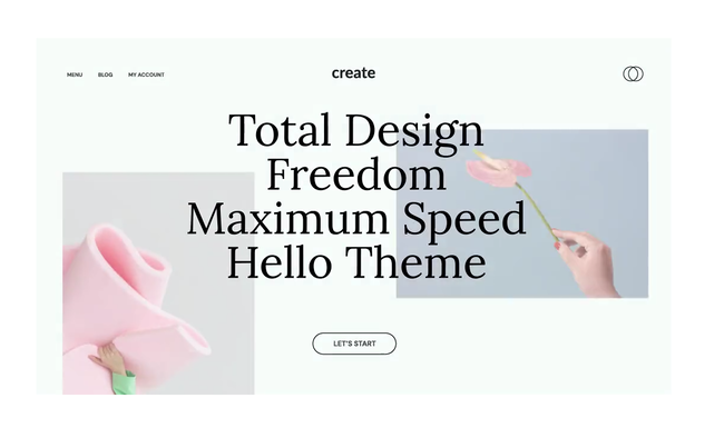 Hello by Elementor Theme